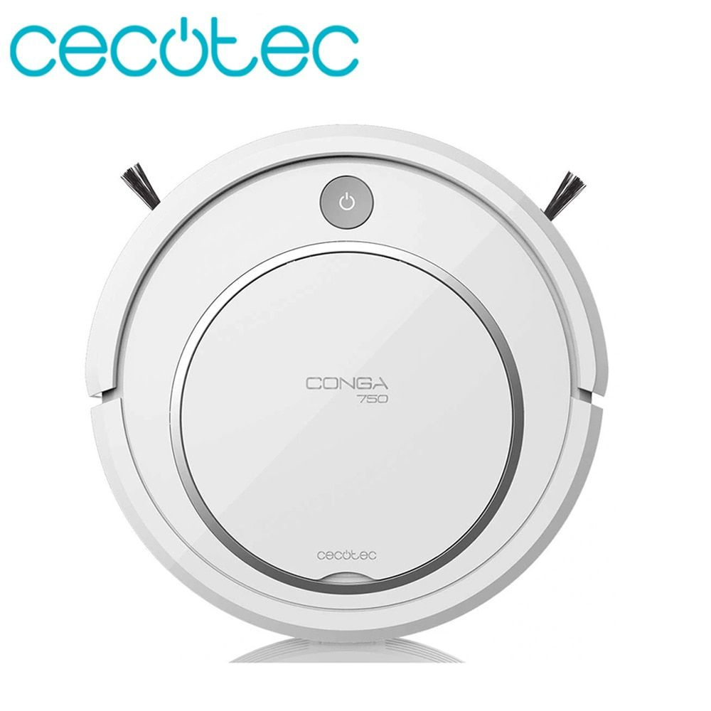 Cecotec Roboter Staubsauger Conga Serie 750 Smart für Home proffesional Roboter 4 in 1 Big Power saug Friegasuelos