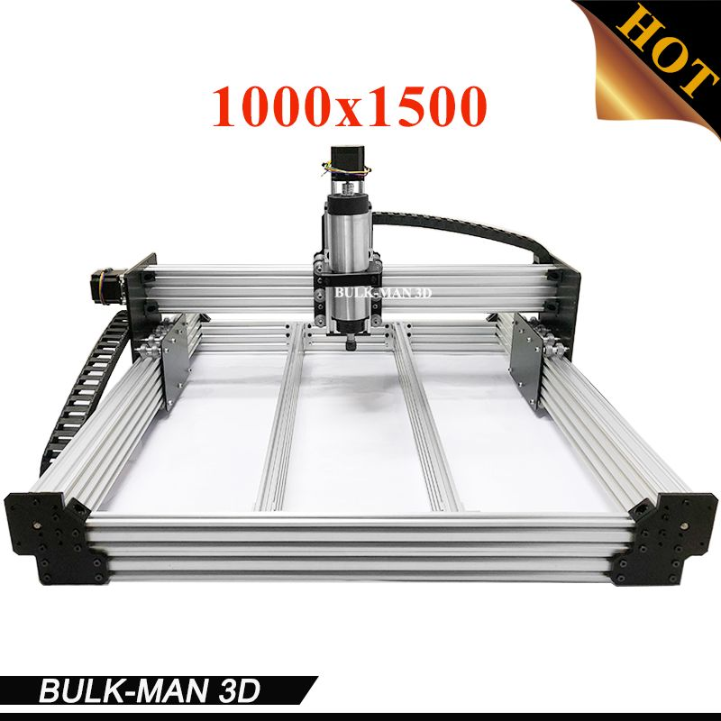 WorkBee CNC Complete Engraving Machine, WorkBee CNC Router Machine Full kit with Spindle Inverter, Electronic Combos 1000*1500mm