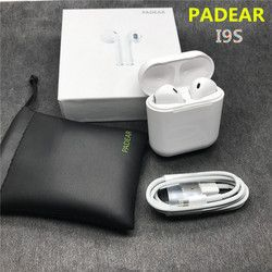 Padear I9s/F10 Bluetooth Écouteurs Écouteurs Sans Fil Casques Oreille Mini Double Pas Air gousses Pour Iphone Andorid Apple 7/8 plus X