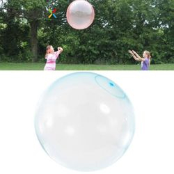 Bubble Balloon Inflatable Toy Ball Amazing Tear-Resistant Super Inflatable Ball Toys for Children Outdoor Play toys for Children