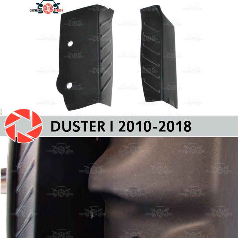 Seite abdeckungen in die stamm für Renault Duster 2010-2018 schutz platte inneren stamm zubehör schutz auto styling dekoration