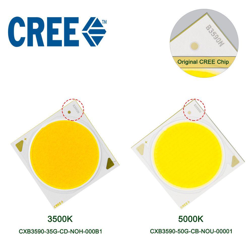 LED Wachsen Licht Chip CREE COB CXB3590 3500 K 5000 K 12000LM Original Chip High Power Lumen für DIY Pflanze wachsen Lampe