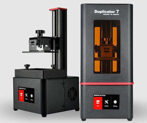2019 NEUE! Wanhao Duplizierer 7 PLUS 3D Drucker (V1.5) UV Harz DLP SLA Touchscreen 3D Drucker Maschine Mit Neuen Deckel