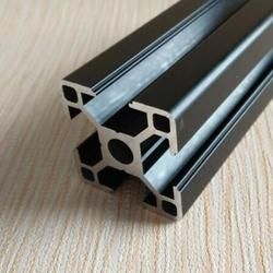 410mm 3030 Black Al profiles  for HyperCube Evolution 3D Printed Parts Black color,8pcs/lot