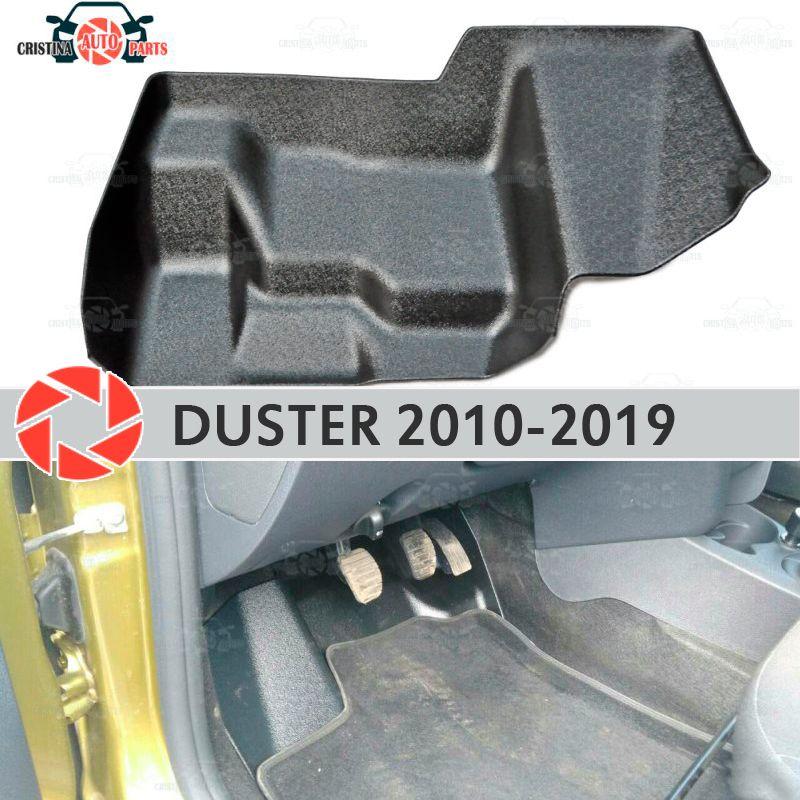 Pad unter die gas pedale für Renault Duster 2010-2019 abdeckung unter füße zubehör schutz dekoration teppich auto styling