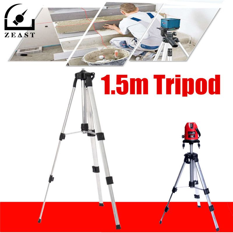 1.5m Tripod For Laser <font><b>Level</b></font> Automatic Self 360 degree Leveling Measure Building <font><b>level</b></font> Construction Marker Tools