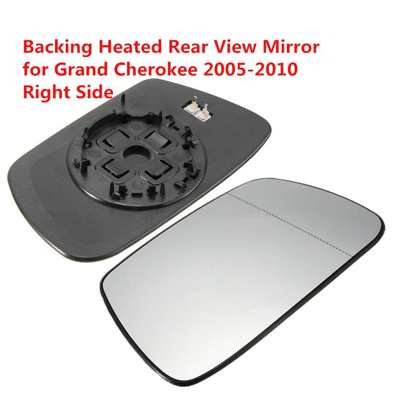 Right Side Outside Heated Rear View Mirror Car Exterior Mirrors Heating Rearview Mirror Glass for Jeep Grand Cherokee 2005-2010