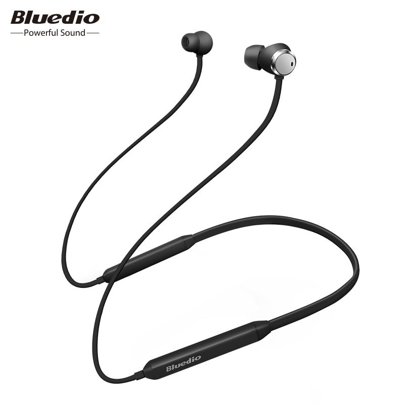 Bluedio TN Active Noise Cancelling Sport Bluetooth Écouteurs/Casque Sans Fil pour téléphones et musique