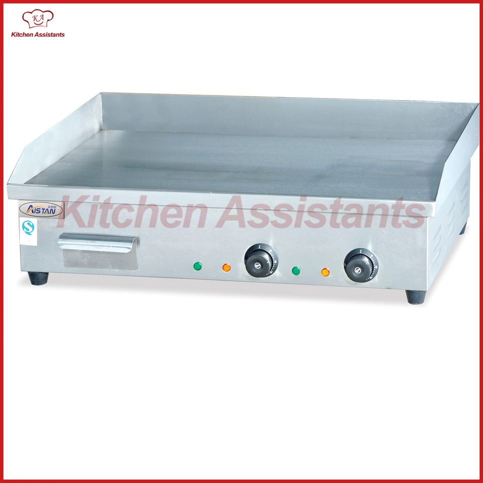 EG820 electric commercial counter top grill griddle machine