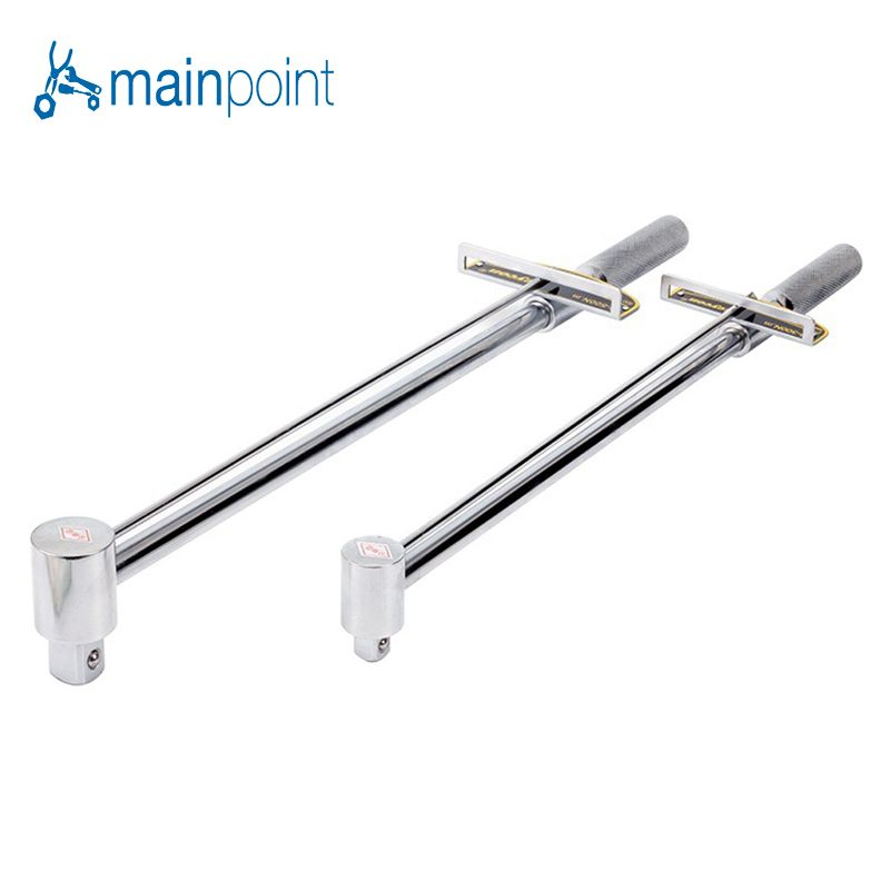 Mainpoint Pointer Type Socket Torque Wrench 1/2 300N.m 3/4 500N.m Chromium-vanadium Steel Auto Repair Tension Wrenches Spanner