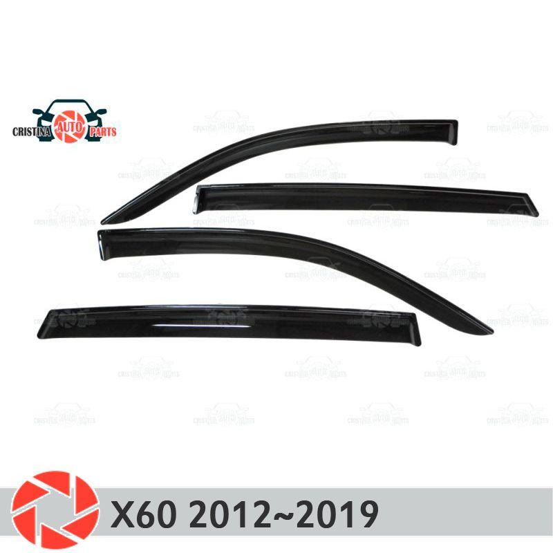 Fenster deflektor für Lifan X60 2012 ~ 2019 regen deflektor schmutz schutz auto styling dekoration zubehör molding