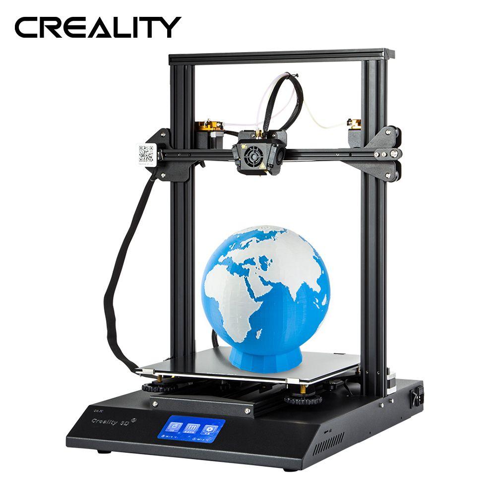 Neueste Creality 3D Drucker CR-X Dual Farbe 4,3-zoll Bunte Touchscreen 3D Drucker Mit Zwei Extruder Eine Düse
