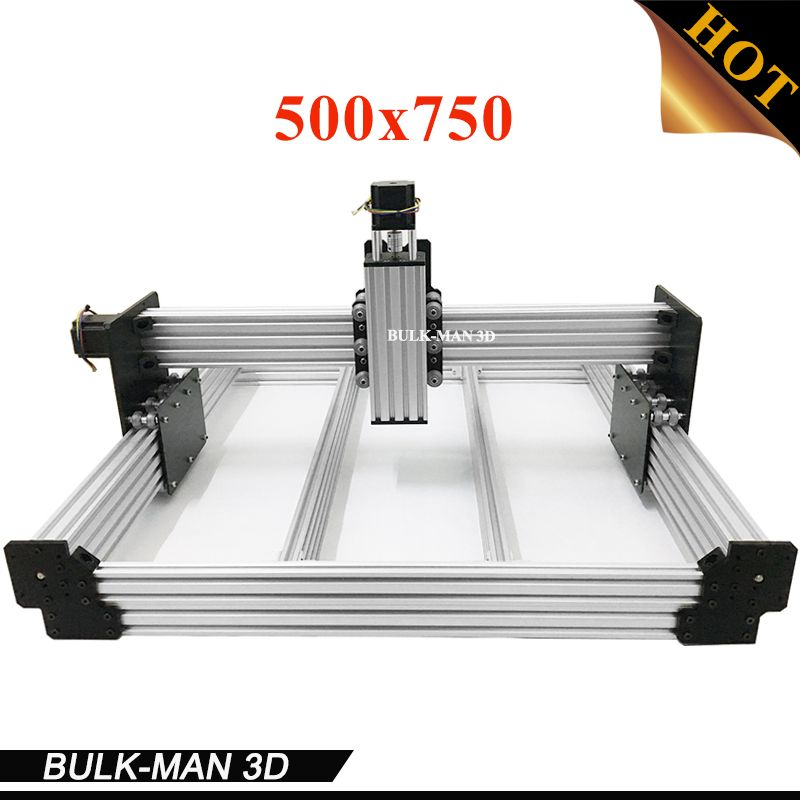 WorkBee CNC Mechanical Kit OX CNC Kit Upgrade Version DIY CNC Carving Machine tool,CNC Milling Machine with Motors 500x750mm