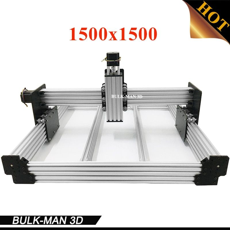 WorkBee CNC Mechanical Kit OX CNC Kit Upgrade Version DIY CNC Carving Machine tool,CNC Milling Machine with Motors 1500x1500mm