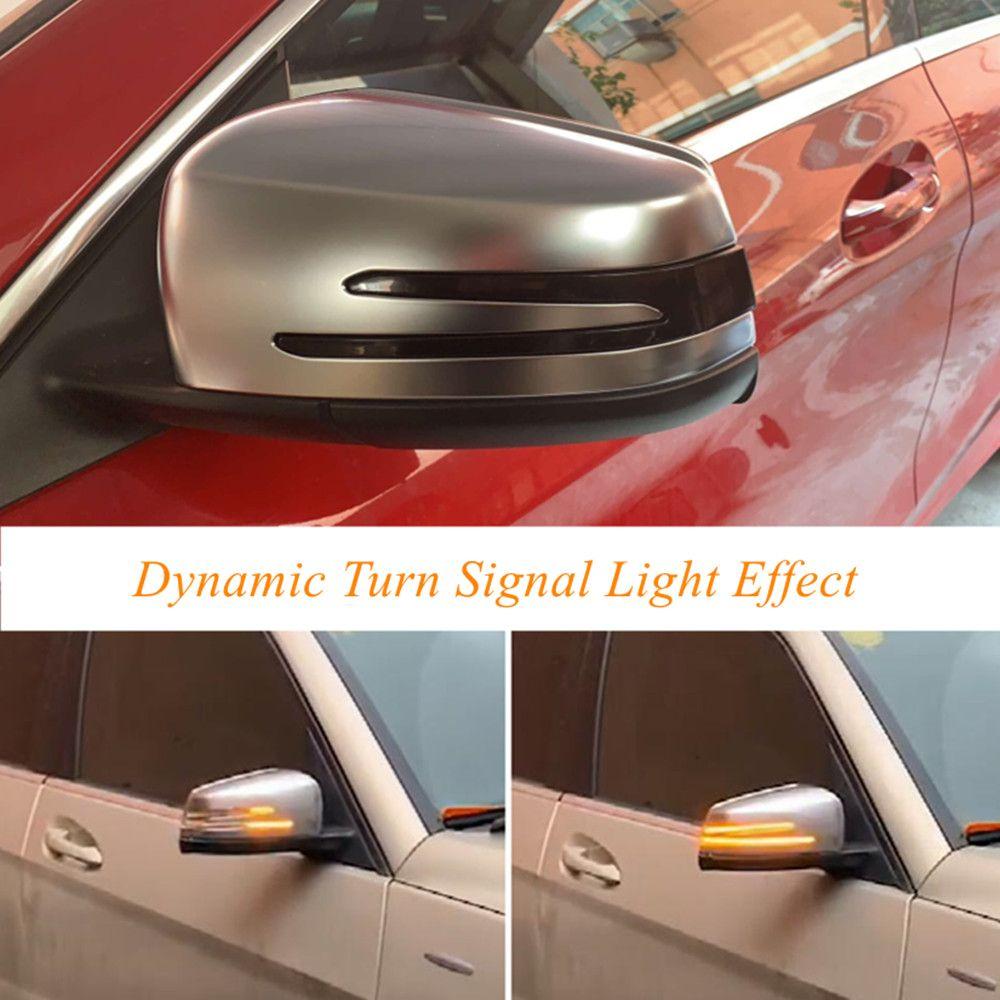 Für Mercedes Benz A B C E S CLA GLA GLK CLS Klasse W176 W204 W212 LED Dynamische Blinker blinker Seite Spiegel Anzeige Licht