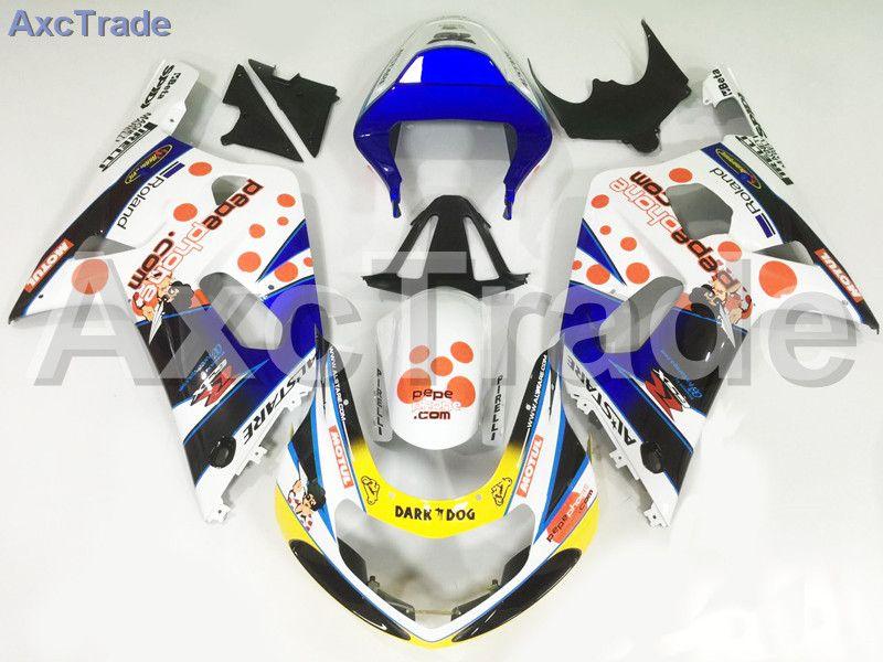 Motorrad Verkleidungen Kits Für Suzuki GSXR GSX-R 600 750 GSXR600 GSXR750 2001 2002 2003 K1 ABS Kunststoff-spritzguss Verkleidung Kit A155