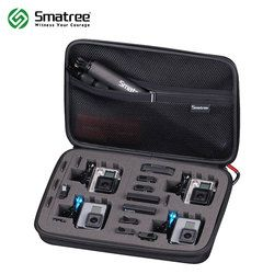 Smatree G360 Large Size Carrying Case for Gopro Hero 6/5/4/3+/3/2/SJCAM sj4000(Camera and Accessories are NOT included)