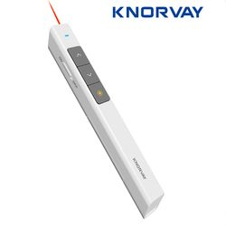Knorvay Wireless Presenter Laser Pointer RF 2.4 GHz PowerPoint Templates Presentasi PPT Remote Control Pen