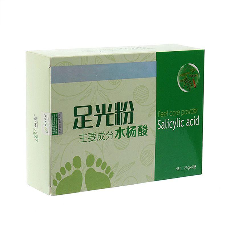 6pcs Herbal Foot Bath Powder Feet Care Chinese Medicine Salicylic Acid Foot Bath Spa Sterilizing Relieving Itching Beriberi