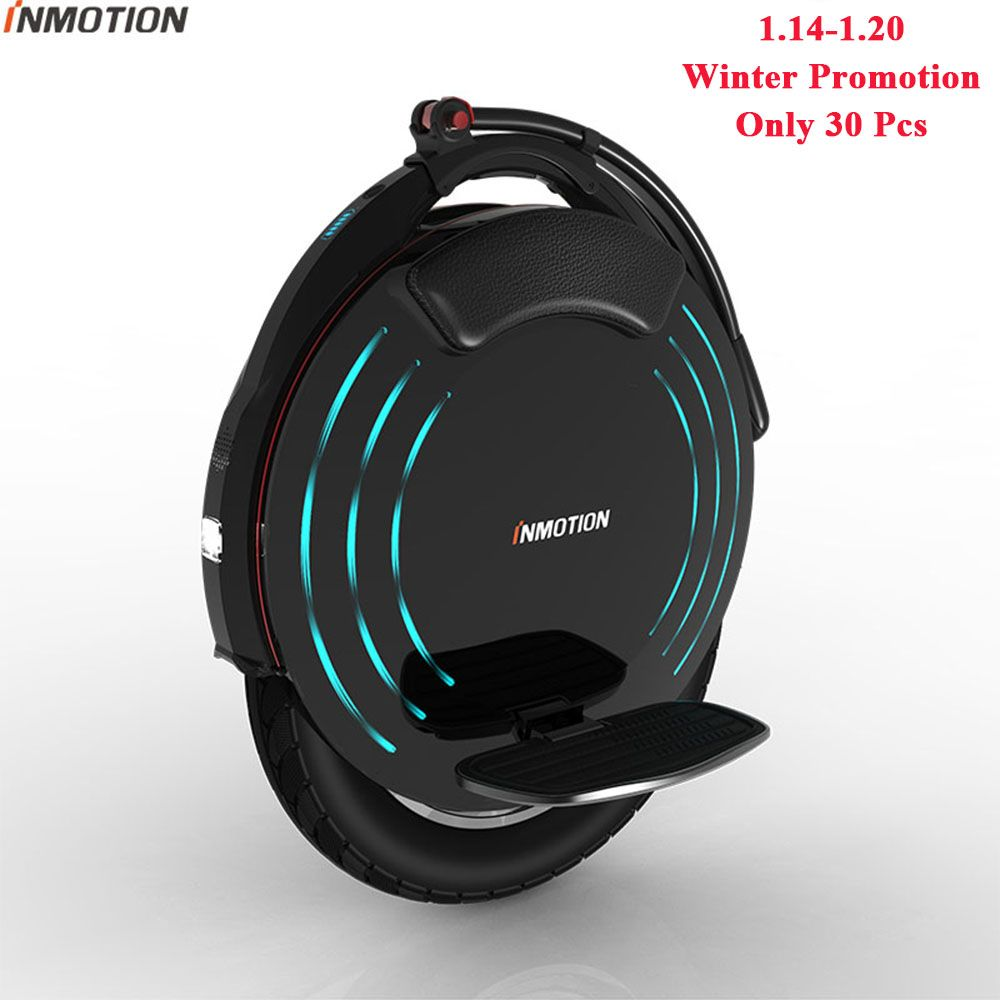 INMOTION V10/V10F Self Balancing Wheel Scooter Electric Unicycle 2000W Build-in Handle Hoverboard With Decorative Lamps