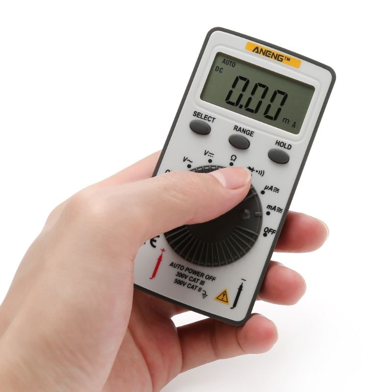 AN101 Pocket Digital Multimeter Backlight AC/DC Automatic Portable Meter Test Tools Drop Shipping Support