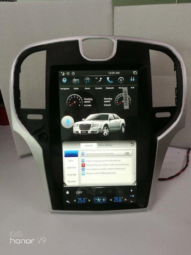 Vertikale Bildschirm 13,3 zoll Android 6.0 Quad Core 2G + 32GB Auto Radio Für Chrysler 300C Stereo GPS Navigation