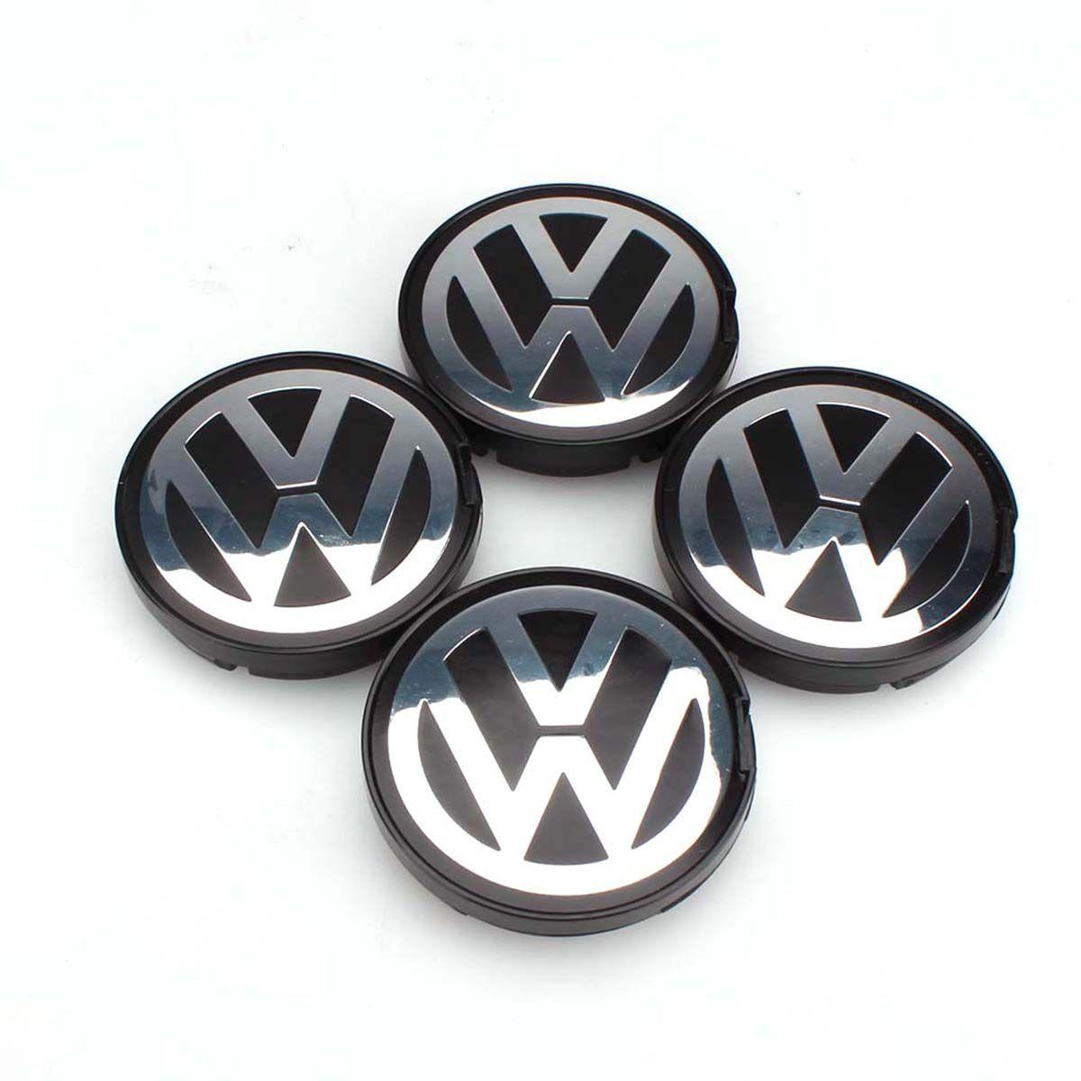 OEM концентратора Логотип Эмблема 55 мм центра колеса Кепки Обложка для VW Гольф Jetta Passat GTI R32 Bora 6n0601171