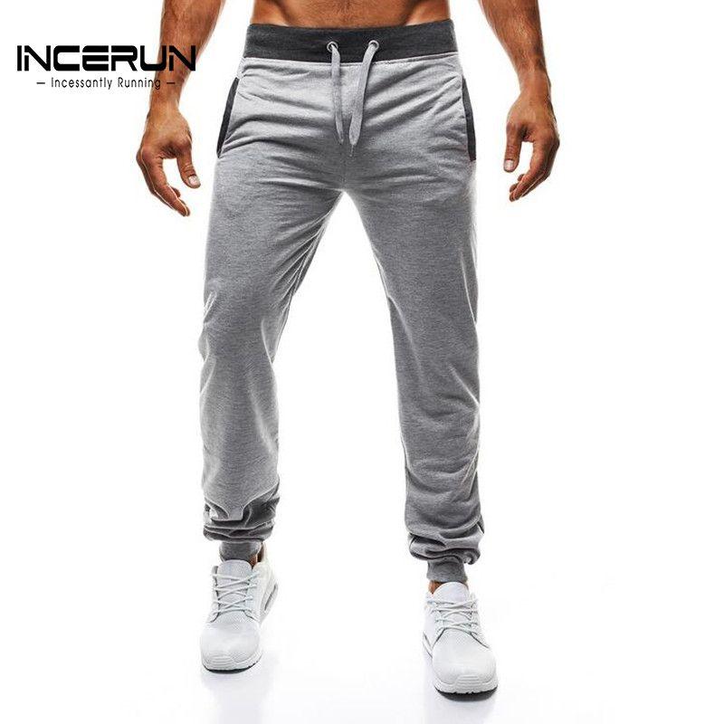 2018 Autumn Spring Men's Sweatpants Casual Slim Fit Harem Workout Pants Long Trousers Joggers Men Sportswear Slacks High Quality