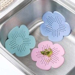 Силиконовая раковина сливной фильтр волосы в ванной Catcher пробка душ для сливного отверстия ловушка фильтра фильтр для кухни, ванной, туалет...