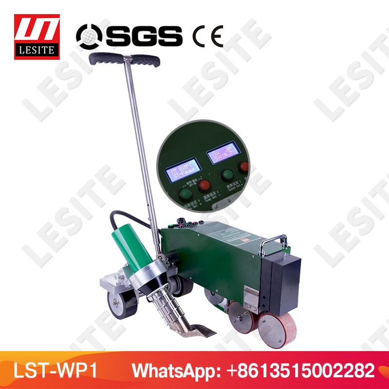 LESITE LST-WP1 PVC waterproof membrane welding machine welding plastic sheet welder TPO welder