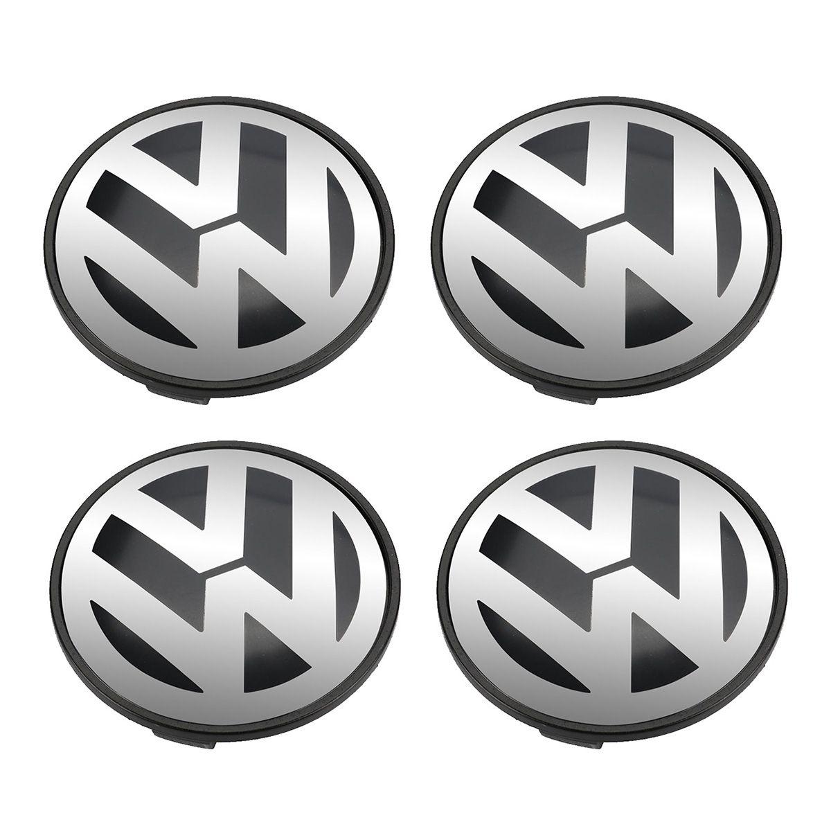 4pcs 70mm Wheel Center Hub Cover Cap For VW Touareg 7L6 601 149 B RVC