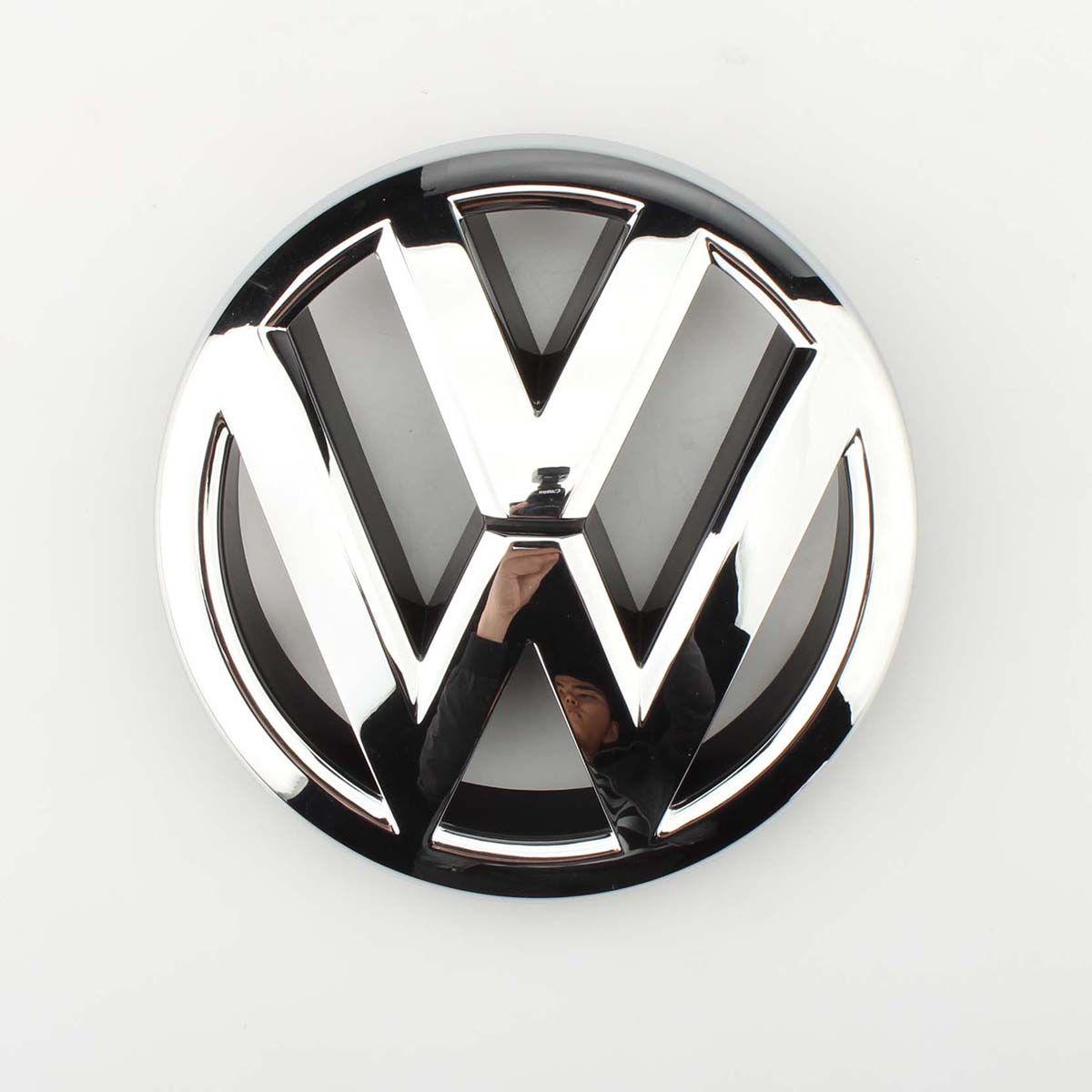 VW эмблема Chrome OEM Передняя решетка Знак Jetta MK6 седан 2011-14 5C6853601ULM