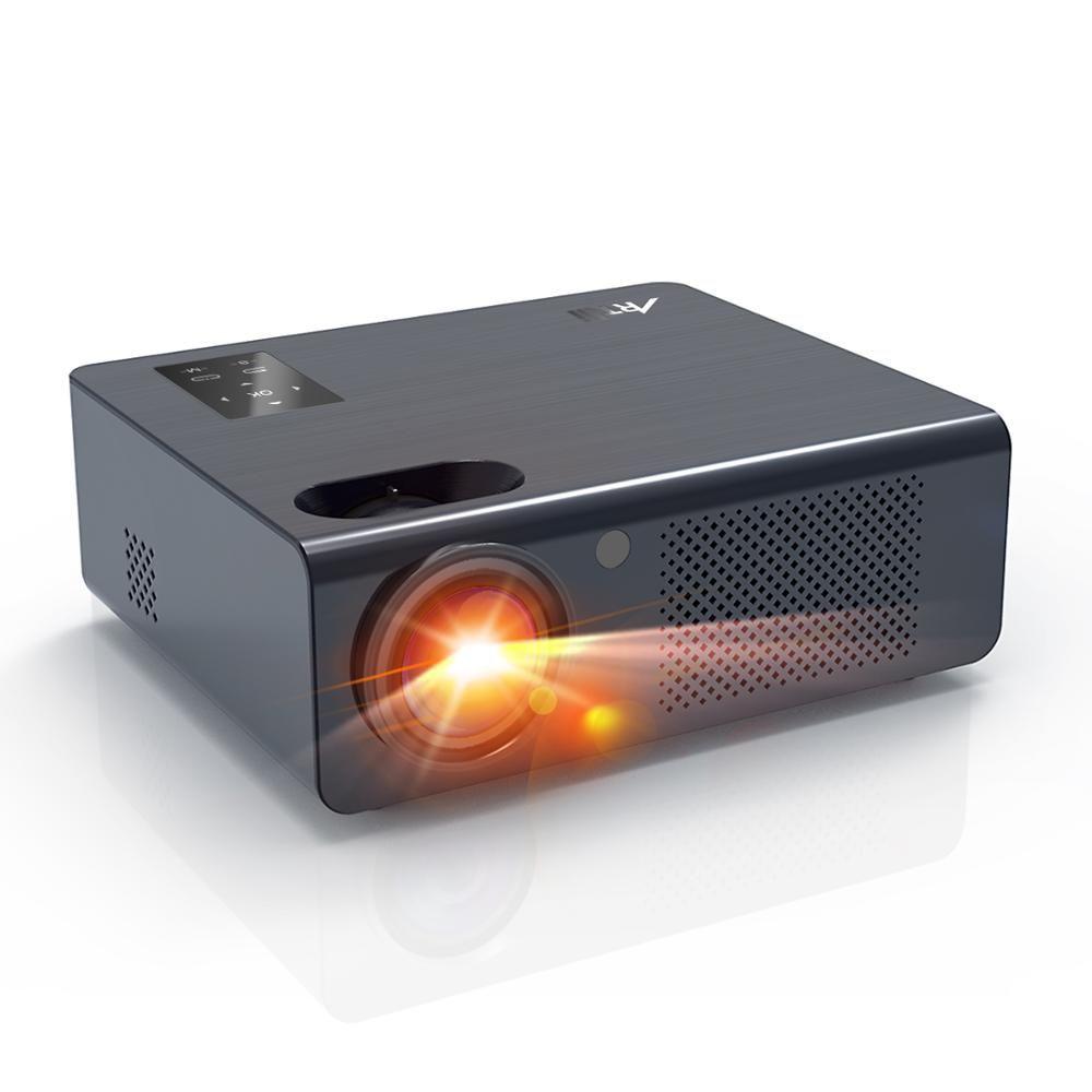 Artlii Energon Mutter HD 720p Heimkino Projektor, Hallo-fi Stereo Projektor, zoomen Projektor mit 200 ANSI und Schlankes Design