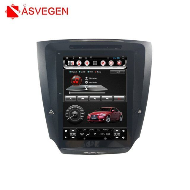 Telsa Stil Auto Multimedia-Player Für Lexus IS250 IS300 IS350 Android 6.0 Ram 2G Rom 32G 10,4 Zoll Auto stereo Video Player