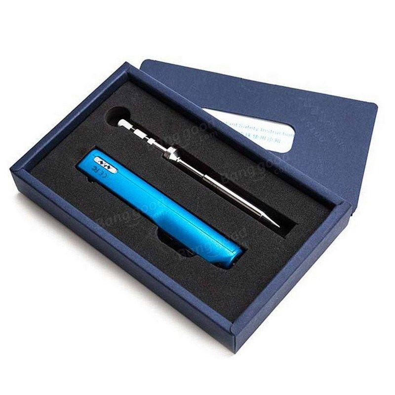 TS100 65W Digital USB Electric Soldering Iron Tip Pen Mini Adjustable Temperature Welding Solder Heat Pencil LCD Programmable