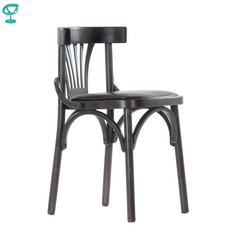 2118 Barneo Wiener holz stuhl weichen sitz abendessen Stuhl Innen Hocker Stuhl Küche Möbel Wenge kostenloser versand in Russland