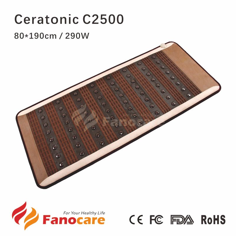 Ceratonic Jade Anion Ceramic Far Infrared Therapy Korea Tourmaline Heat Mat