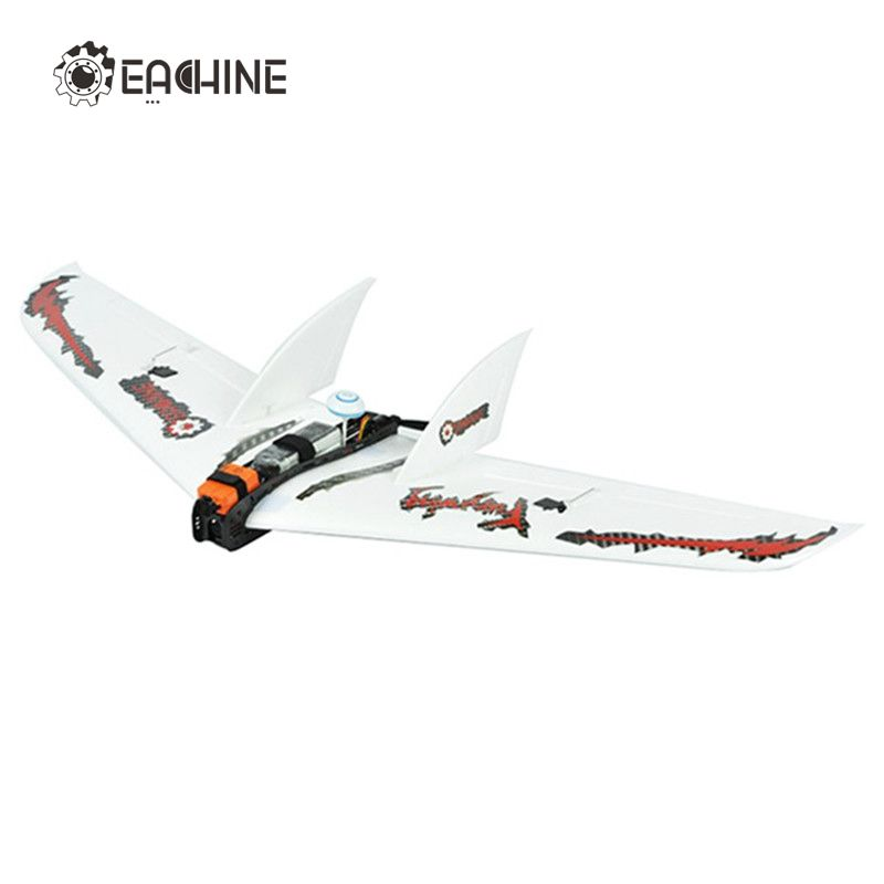 2018 New Arrival Eachine Fury Wing 1030mm Wingspan RC Airplane Carbon Fiber EPO FPV Racer Flying Wing Plane Aircraft Toys PNP