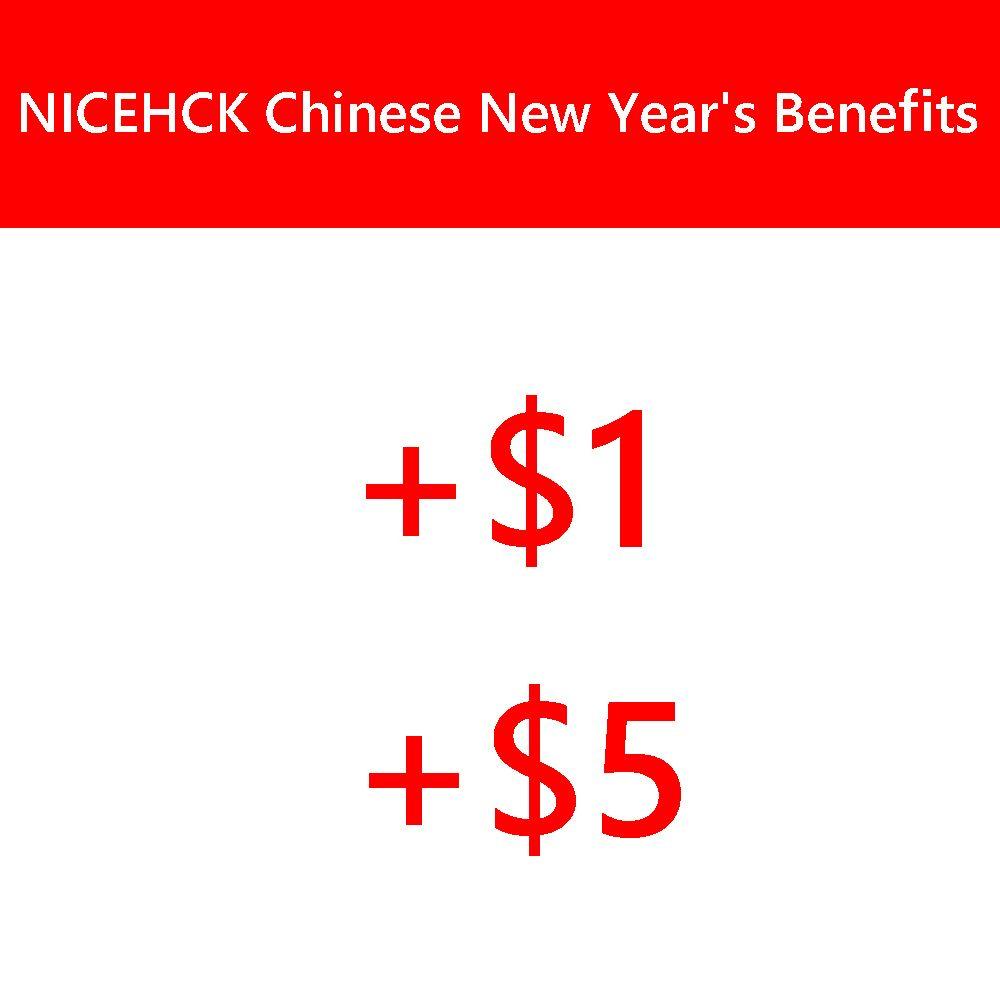 2019 NICEHCK Chinesische Neue Jahr der Vorteile