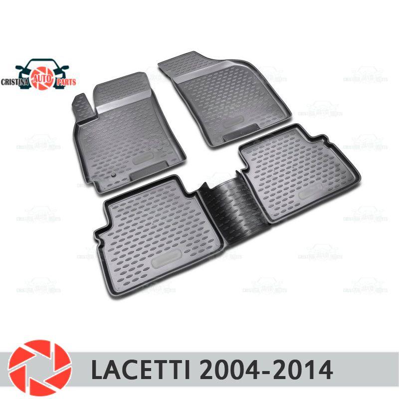 Boden matten für Chevrolet Lacetti 2004-2014 teppiche non slip polyurethan schmutz schutz innen auto styling zubehör