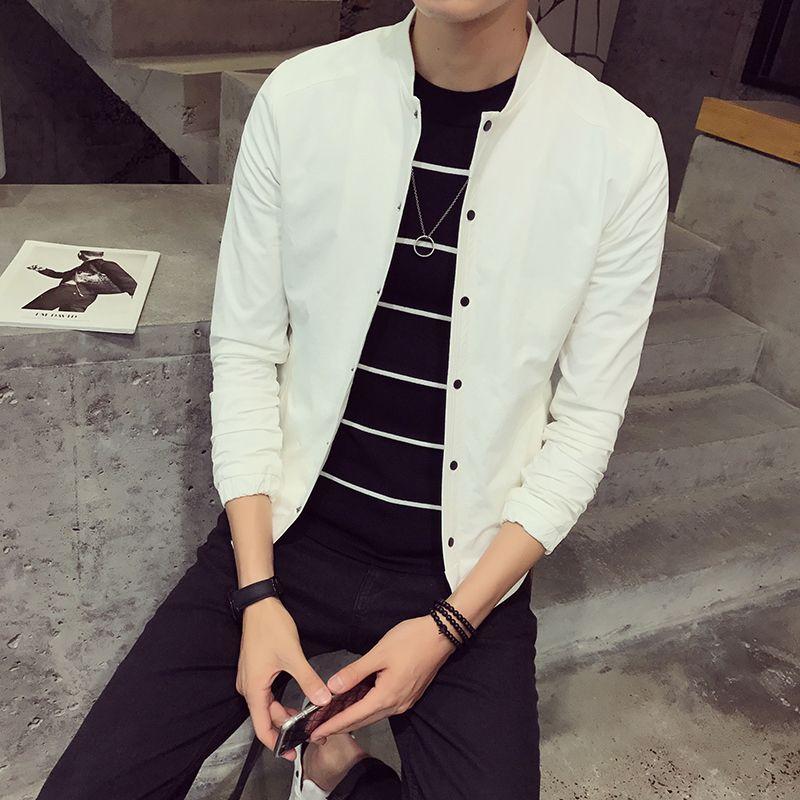 Spring clothing designer jacket male fashion coat male jacket youth business fashion leisure baseball han edition ICONS