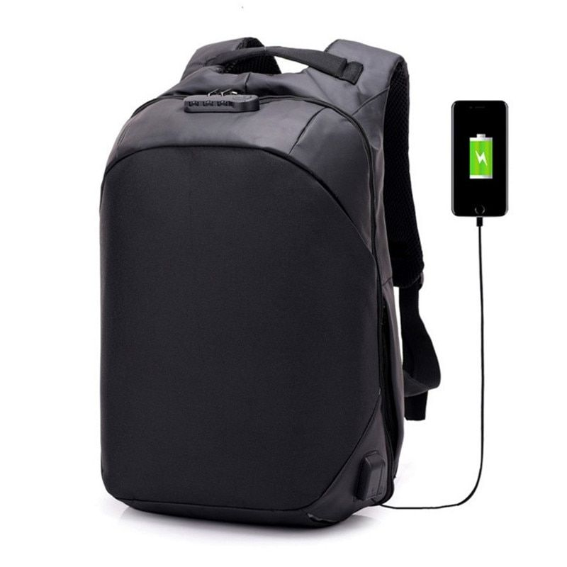 New USB Charge Anti Theft nylon Casual Backpack Men Backpacks Fashion Travel School Bags Bagpack hologram for sale