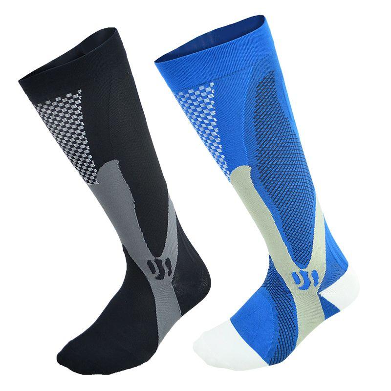 compression socks strengthen pressure sports running socks fitness pain relief below knee length football basketball soccer sox