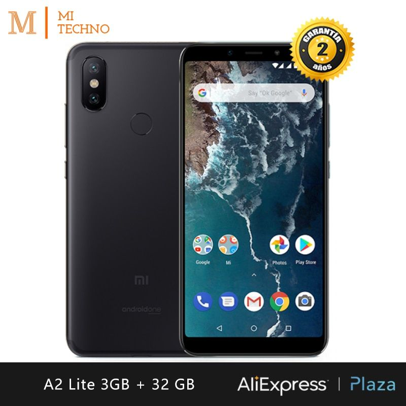 [Version globale] Xiaomi Mi A2 Lite Smartphone 5,84(3 Go RAM + 32 Go ROM, double carte SIM, batterie 4000 mAh, Android One)