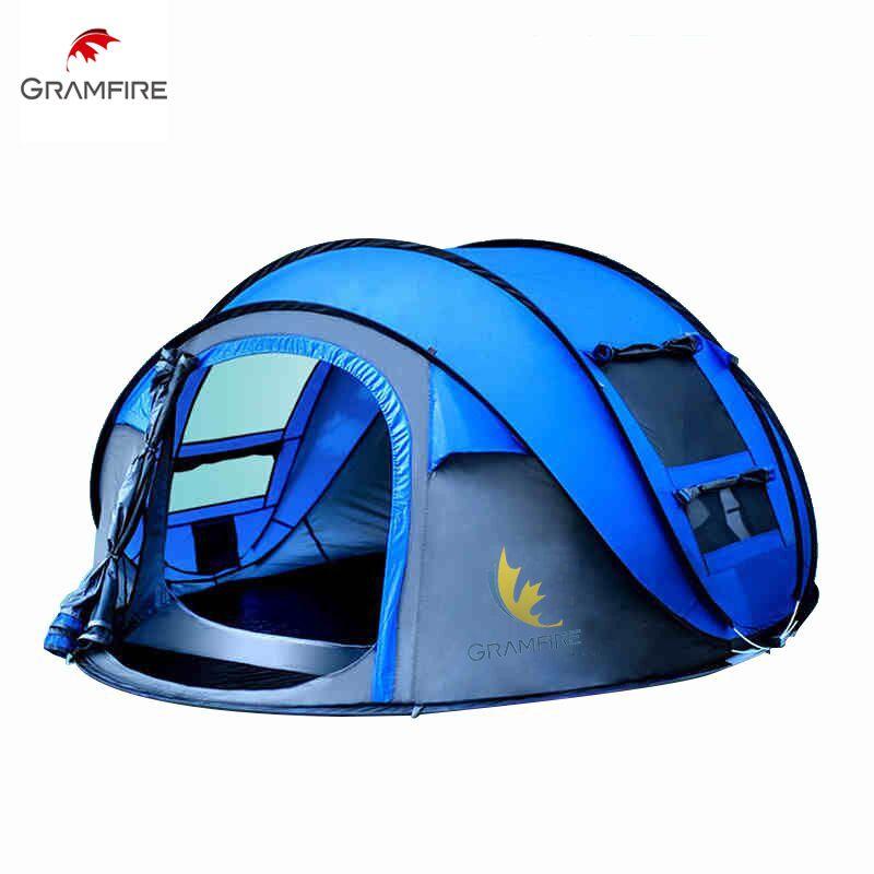 Outdoor reise Strand zelt fiberglas pole wandern werfen instant automatische folding camping pop up zelt