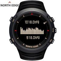 NORTH EDGE для мужчин спортивные цифровые часы бег одежда заплыва спортивные альтиметр барометр компасы термометр погода для мужчин