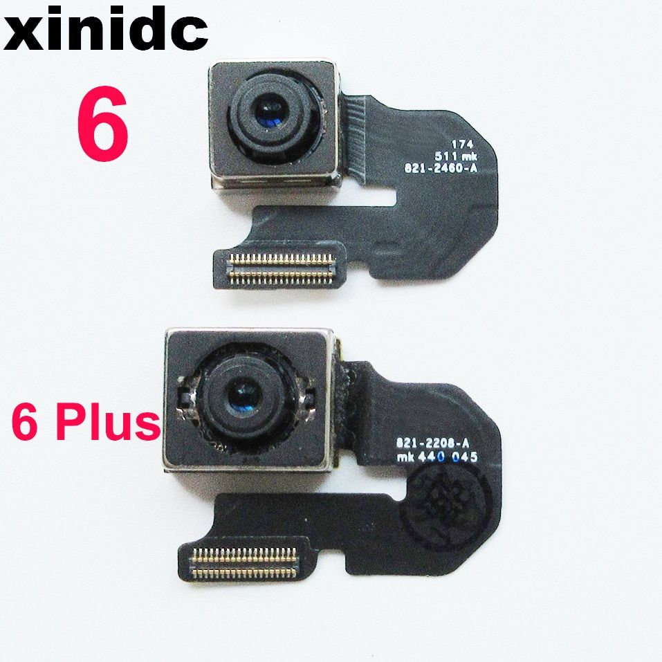 Xinidc Back Rear Camera Flex Cable For iPhone 6 Plus 6 Main Camera Module Flex Ribbon AAA Quality Fast Shipping