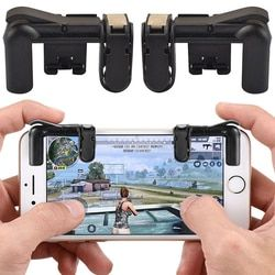 For PUBG Controller Gamepad Game Pad Trigger Joystick Cell Phone Mobile Fire Button L1R1 Aim Key for iphone Xiaomi fortnit