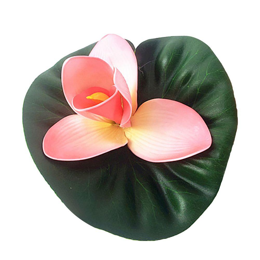 Loto simulación Artificial Flor Flores Del Banquete Habitación Decoración Utilería