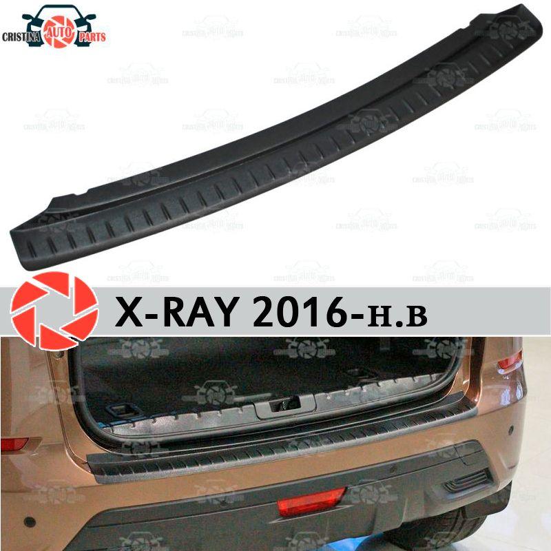Für Lada X-Ray 2016-schutz schutz platte auf heckschürze sill auto styling dekoration scuff panel zubehör